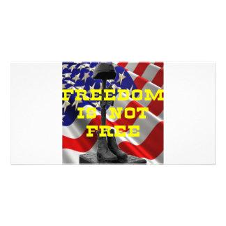Cruz del campo de batalla de los soldados tarjetas fotográficas