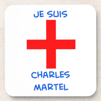 cruz del cruzado del martel de Charles de los suis Posavasos