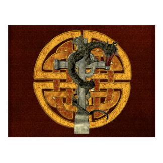 Cruz del dragón postales