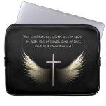 Cruz del Espíritu Santo y del cristiano con verso  Mangas Computadora
