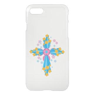 Cruz del flower power funda para iPhone 7