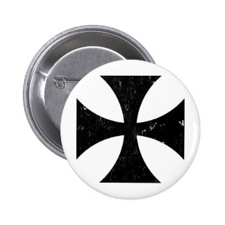 Cruz del hierro - alemán/Deutschland el Ejército a Pin Redondo De 2 Pulgadas