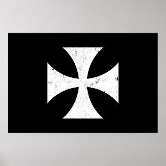 Cruz del hierro - alemán/Deutschland el Ejército a Póster