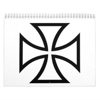 Cruz del hierro calendario de pared
