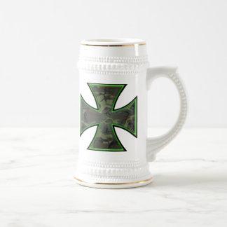 Cruz del hierro de Camo Jarra De Cerveza