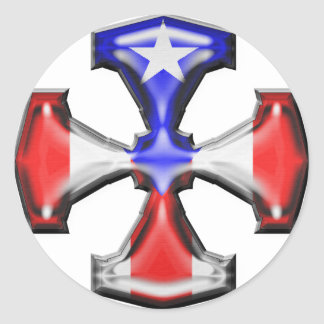 Cruz del hierro de la bandera de la banda