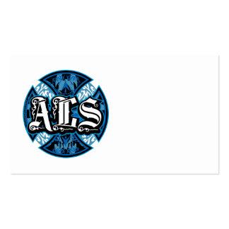 Cruz del hierro del ALS Tarjetas De Visita