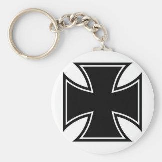 Cruz del hierro llaveros personalizados