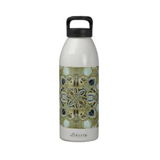 Cruz del místico religioso botella de beber