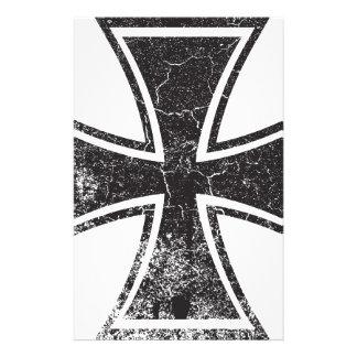 Cruz del motorista papeleria de diseño