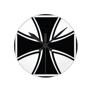 Cruz del motorista relojes