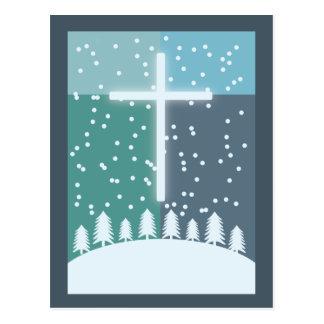 Cruz del navidad postales