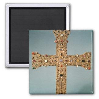 Cruz del relicario de la abadía de Valesse Imán Cuadrado