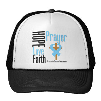 Cruz del rezo de la fe del amor de la esperanza de gorro