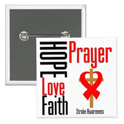 Cruz del rezo de la fe del amor de la esperanza de pin