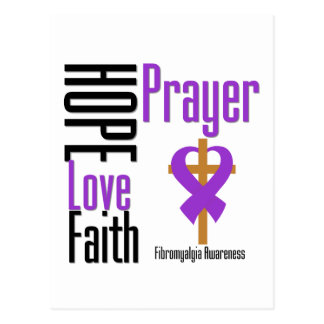 Cruz del rezo de la fe del amor de la esperanza de postales