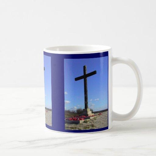 Cruz del sacrificio taza