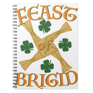Cruz del St. Brigids Cuaderno