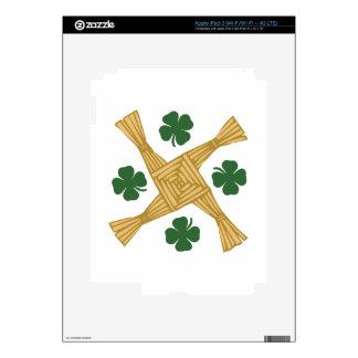 Cruz del St. Brigids iPad 3 Pegatinas Skins
