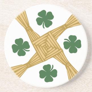 Cruz del St. Brigids Posavasos Personalizados