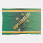 Cruz del sur de oro de Australia del efecto Toalla