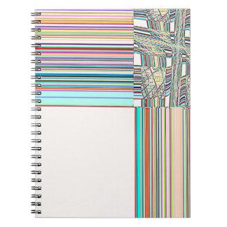 Cruz del sur reconstruida spiral notebook
