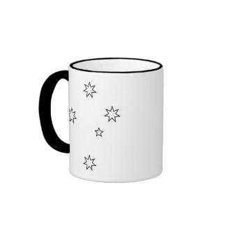 Cruz del sur tazas de café