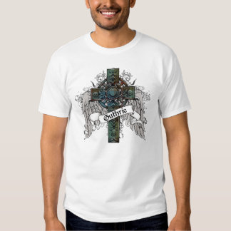 Cruz del tartán de Guthrie Camisas