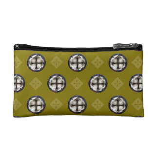 Cruz en bolso cristiano del cosmético del diseño