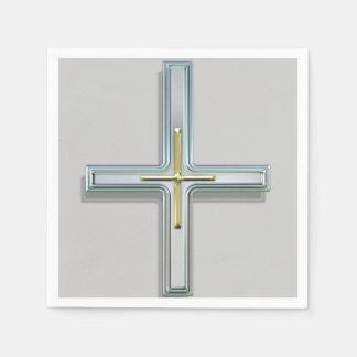 Cruz en la fe II Servilleta Desechable