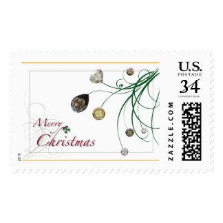 Cruz en sello del navidad de Diamond™