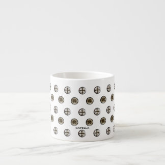 Cruz en taza cristiana del café express del diseño taza espresso