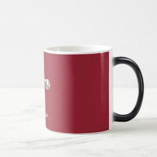 Cruz en taza Morphing del diseño cristiano del ®