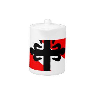 Cruz etíope de la bandera de la zambullida