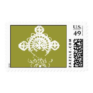 Cruz etíope - franqueo estampilla