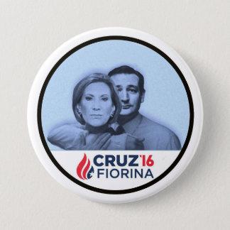 Cruz Fiorina '16 Pinback Button