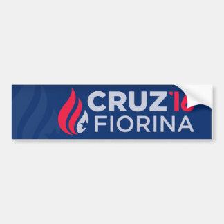 Cruz/Fiorina 2016 bumper sticker
