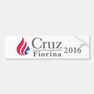 Cruz/Fiorina 2016 DISCOUNT bumper sticker