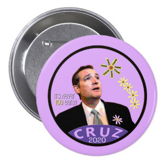 Cruz for President 2020 Pinback Button