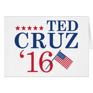 Cruz For President Card
