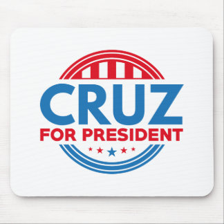 Cruz For President Mouse Pad