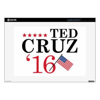 Cruz For President Skins For Laptops