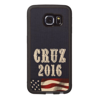 Cruz for President Wood Phone Case