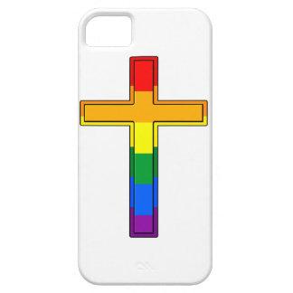 Cruz gay iPhone 5 carcasa
