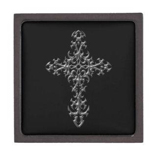 Cruz gótica agresiva caja de regalo de calidad