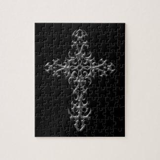 Cruz gótica agresiva puzzles con fotos