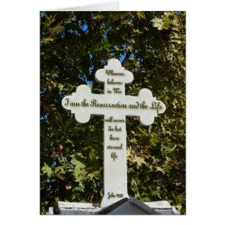 Cruz griega ortodoxa felicitacion