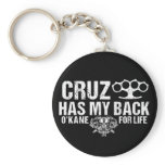 Cruz Has My Back Keychain