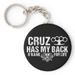 Cruz Has My Back Keychain