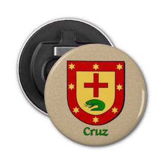 Cruz Historical Arms Shield Bottle Opener